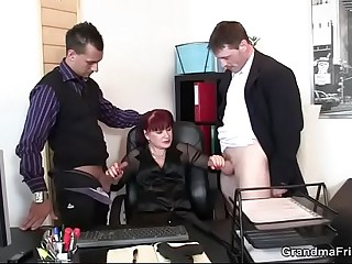 A business lady hires and humps bodyguards  Elena Chopinova