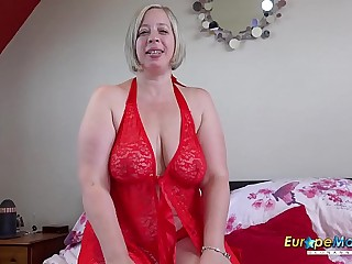 EuropeMaturE Shooting Starlet Playing with Big Tits