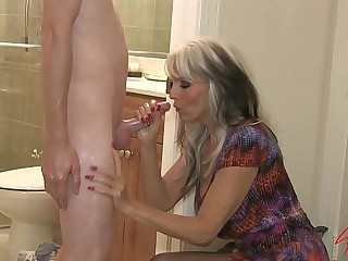 Young guy nails his grandma  #GILF #MILF #TABOO Sally D'_angelo