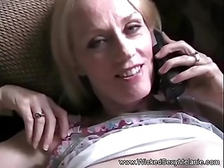Amateur Blonde MILF Is Extra Horny 2nite