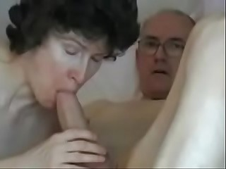 Mature couple  Grandpas big fat cock  theporncentral.com