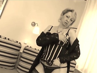German granny screwed in corset #1 threatening(recolored)