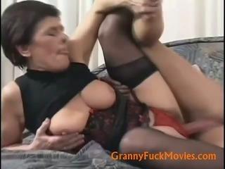 Old slut hard nailed from behind