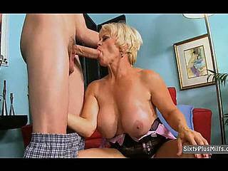 Blond Older Cock Sucker