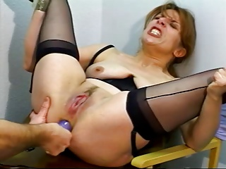 Excellent Older Dildoed And Screwed
