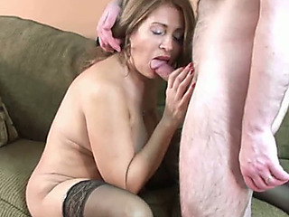 Older and breasty bimbo housewife needs to be screwed hard