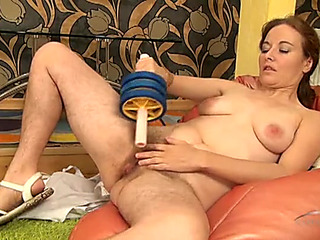 Highly shaggy gams on a solo older playgirl