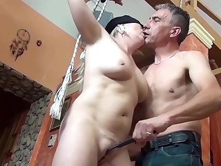 round blonde mom very first time bdsm lesson