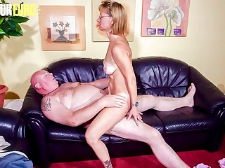 AMATEUR EURO  Horny Granny Conni Fucks With Plumber
