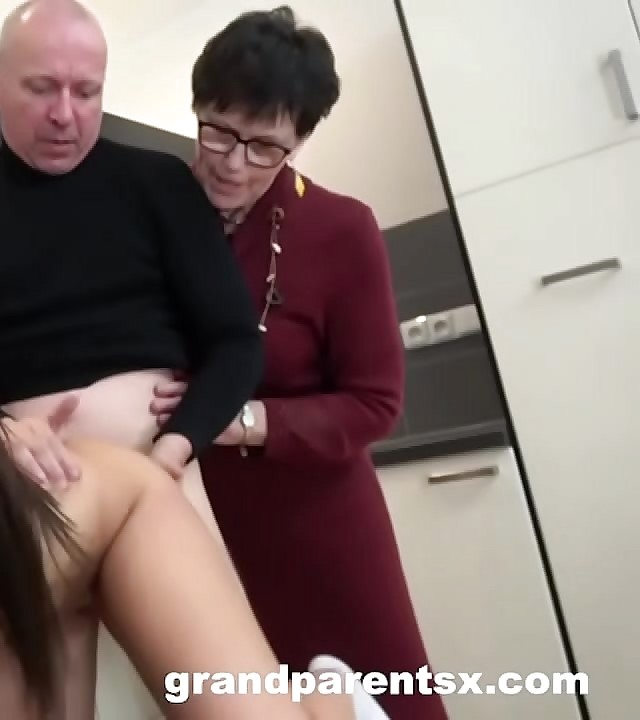 Creepy Old Couple Gives Hook-up Lessons To Hot Teenager