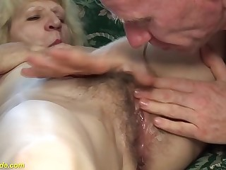 sexy fur covered 80 years old skinny mom rough fucked