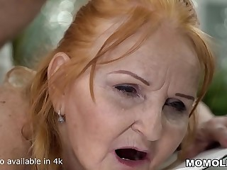 Mature Sexy GILF Marianne Drilled by Youthfull Massage Therapist