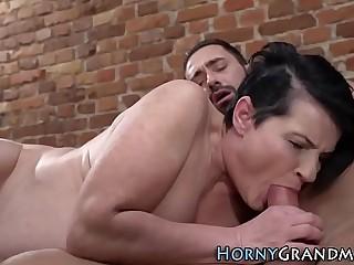 Grandmother with big ass