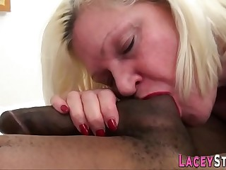 Grandmother banged by bbc